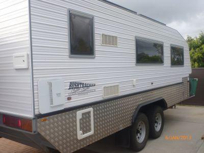 Elegant New BUSHTRACKER 20FT Caravans For Sale